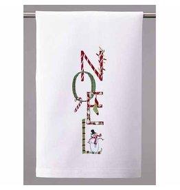 Peking Handicraft Christmas Towel Noel Kitchen Towel 16x25