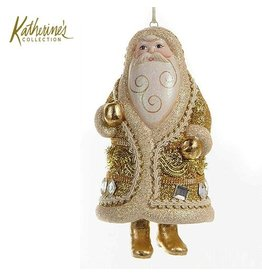 Katherine's Collection Christmas Ornament 28-28940-A Santa Bell