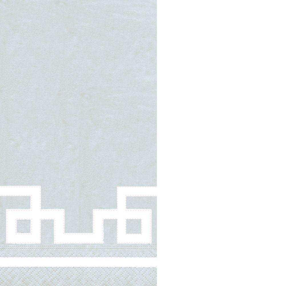 Caspari Paper Guest Napkins 15pk 11954G Rive Gauche Silver