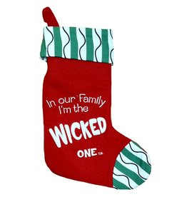 Kurt Adler Christmas Stocking Felt Family Wicked One Stocking C9754-F