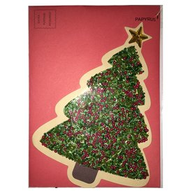 PAPYRUS® Christmas Card Colorful Gem Tree by Papyrus