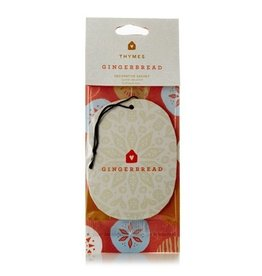 Thymes Gingerbread Decorative Sachet