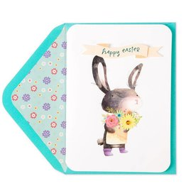 PAPYRUS® Easter Card Bunny Delivering Flowers