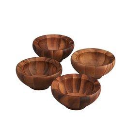 Nambe Individual Salad Bowls 5002