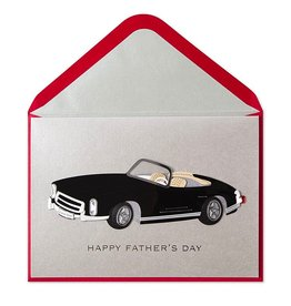 PAPYRUS® Fathers Day Card for Dad Classic Black Car