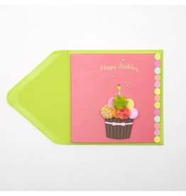 Papyrus Greetings Gift Enclosure Cupcake by Papyrus
