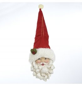 Kurt Adler Christmas Decoration Santa Head Ornament 20L