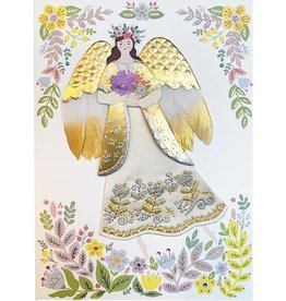 PAPYRUS® Easter Card Gilded Angel