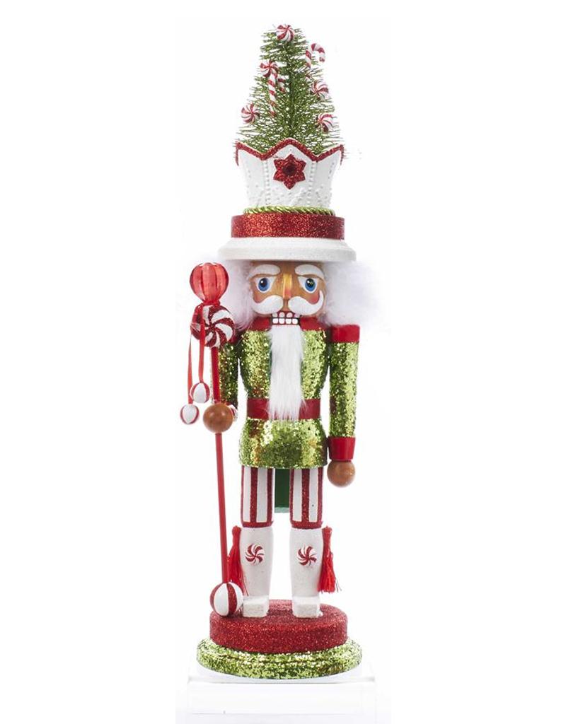 e6c0f1746fd1d Kurt Adler Hollywood Christmas Nutcracker 18 Inch w Candy Tree Hat ...
