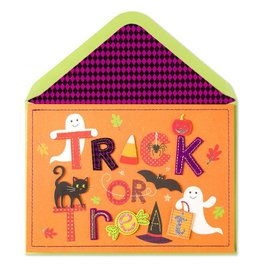 Papyrus Greetings Halloween Card Trick or Treat