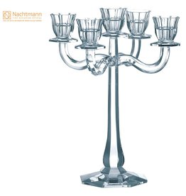 Nachtmann Ravello Candleholder 5 Arm Lead Crystal Candle Holder