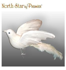 Premier Bird Decoration Open Winged Bird Ornament