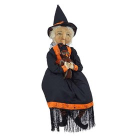 Gallerie II Joe Spencer Gathered Traditions Collection Mabel Witch Doll