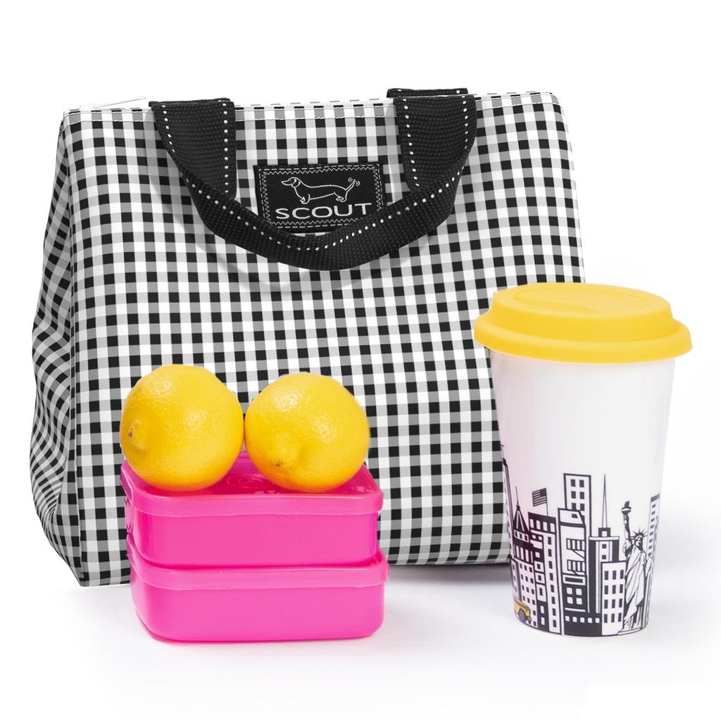 Scout Bags Eloise Lunch Box Soft Cooler Lunch Bag Tote - David Checkham