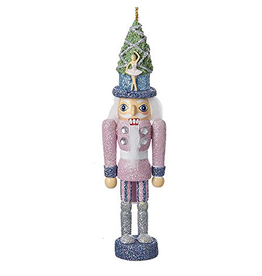 Kurt Adler Christmas Nutcracker Ornament Hollywood Ballet Nutcracker 6in PINK