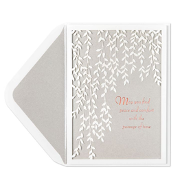 PAPYRUS® Sympathy Card Weeping Willows