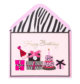 PAPYRUS® Birthday Cards Animal Print Party