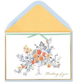 PAPYRUS® Sympathy Cards Thinking Of You Sweet Floral With Gems