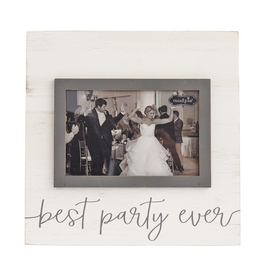 Mud Pie Best Party Ever Photo Picture Frame For 4x6 Photo