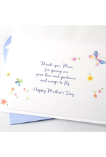 PAPYRUS® Mothers Day Card Tree with Flowers and Butterflies