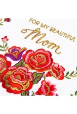 PAPYRUS® Mothers Day Cards Embroidered  Love Folk Floral