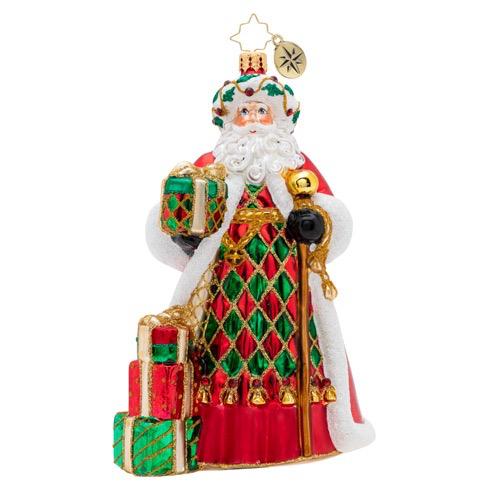 Holiday Harlequin Christmas Ornament