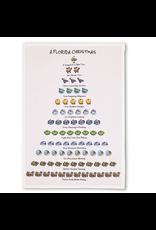 Peking Handicraft Florida 12 Days of Christmas Kitchen Tea Flour Sack