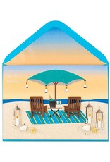 PAPYRUS® Fathers Day Cards For Husband Beach Day Chairs