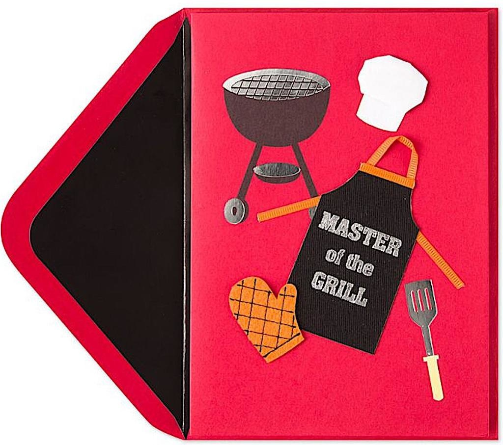 PAPYRUS® Fathers Day Cards For Dads Master Of The Grill