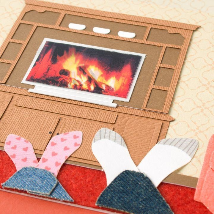 PAPYRUS® Fathers Day Cards For Husbands Watching TV Fire