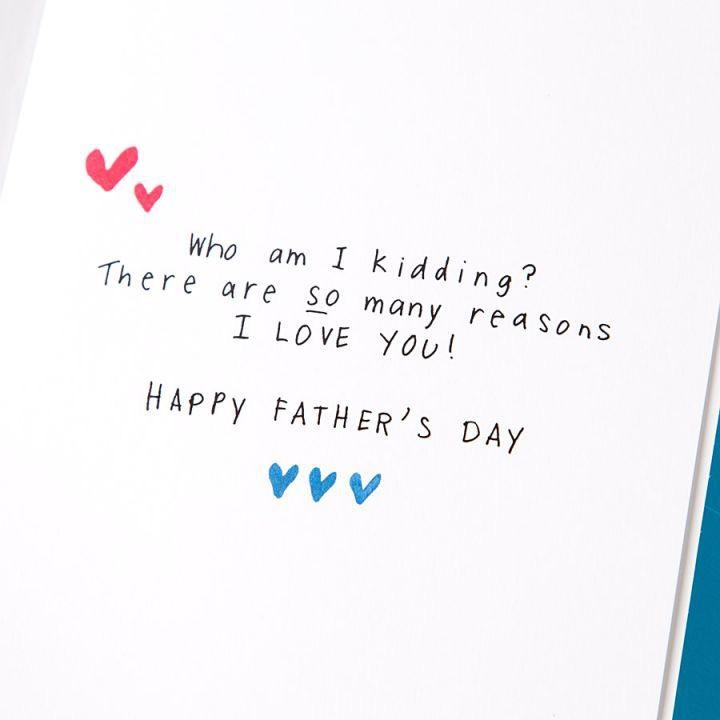 PAPYRUS® Fathers Day Card For Husband Why I Love You Incredible Father