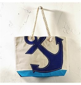 Twos Company Anchors Away Tote Bag 51271