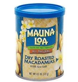 Mauna Loa Mauna Loa Macadamias Nuts Dry Roasted with Sea Salt, 4.5 oz.