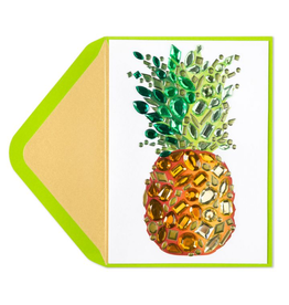 PAPYRUS® Thank You Card Gem Pineapple