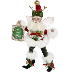 Mark Roberts Fairies Christmas Grinchy Fairy SM 10 inch Dont Get Your Tinsel In A Tangle 51-97198