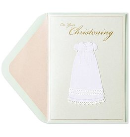PAPYRUS® Christening Cards On Your Christening Handmade Gown
