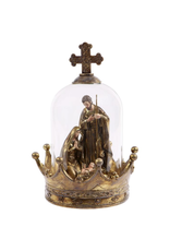 Mark Roberts Christmas Decorations Holy Family Nativity Under Dome 10h