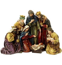 Mark Roberts Christmas Decorations Bavarian Nativity Scene 16x12 inch