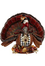 Mark Roberts Fairies Thanksgiving Elegant Turkey Large 25 inch 51-96820