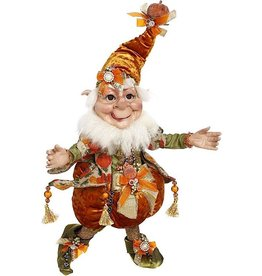 Mark Roberts Fairies Elves Fall Halloween Treat Pumpkin Elf 51-96884 MD 18 Inch