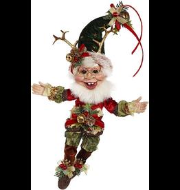 Mark Roberts Fairies Elves Christmas Sleigh Ride Elf SM 13 Inch 51-96890