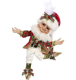 Mark Roberts Fairies Elves Christmas Decorating Elf SM 11 inch 51-96894