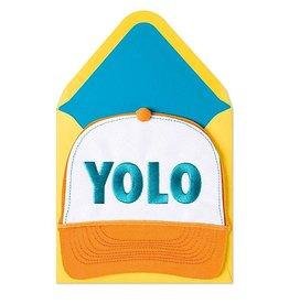 PAPYRUS® Birthday Card Yolo Trucker Hat