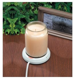 Darice No Flame Candle Plate Large Candle Warmer 4.25 inch