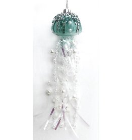 Darice Glass Jellyfish Ornaments 9x2x2 Inch -A
