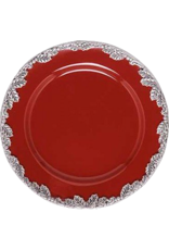 Arthur Court Designs Winterberry Salad Plate Red 8.75 Inches 60-9054