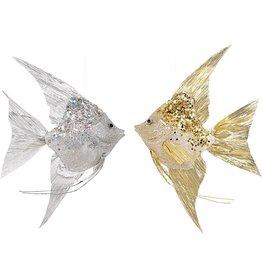 Mark Roberts Angel Fish Ornaments 13x8.5x2.75 Inch Set of 2