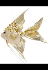 Mark Roberts Angel Fish Ornaments 10x8.5x1.75 Inch Gold