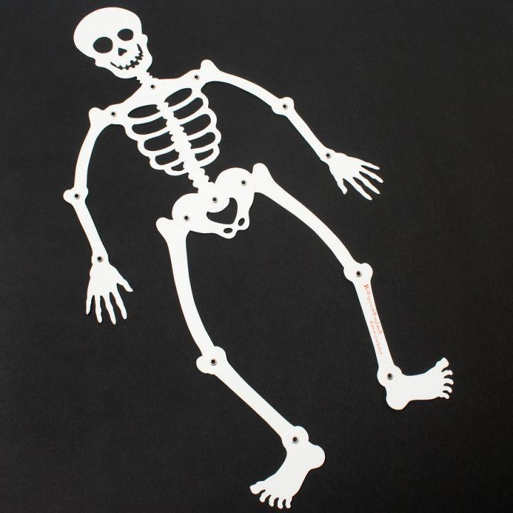 PAPYRUS® Halloween Cards Poseable Articulated Skeleton