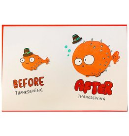 PAPYRUS® Thanksgiving Cards Thanksgiving Puffer Fish
